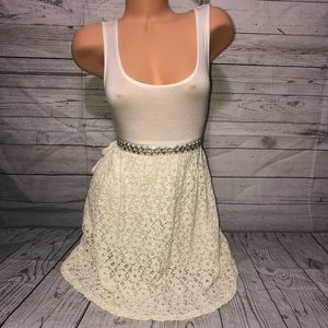 NWPT Wet Seal White/off white dress XL